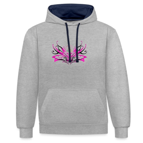ButterFly MaitriYoga - Sweat-shirt contraste