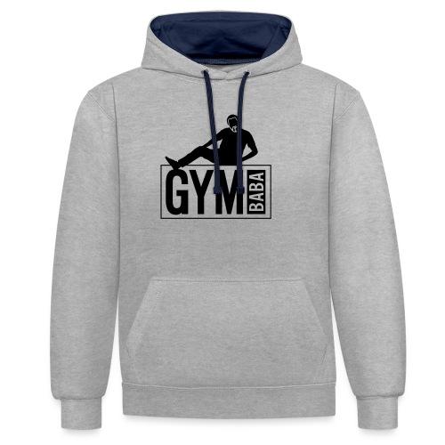 Gym baba 2 2c - Sweat-shirt contraste