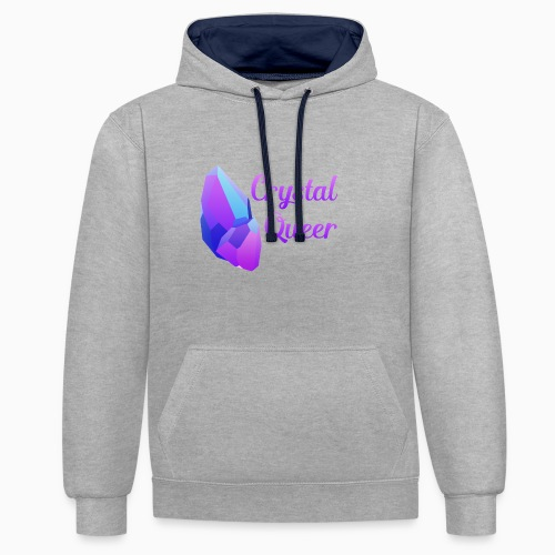 Crystal Queer - Contrast Colour Hoodie