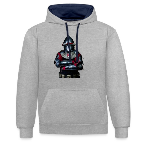 chevalier.png - Sweat-shirt contraste