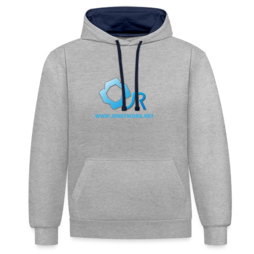 Official Logo - Contrast Colour Hoodie