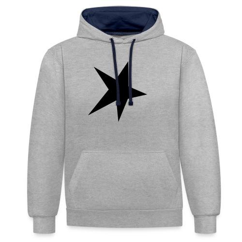 star_twinkle_twinkle - Contrast hoodie
