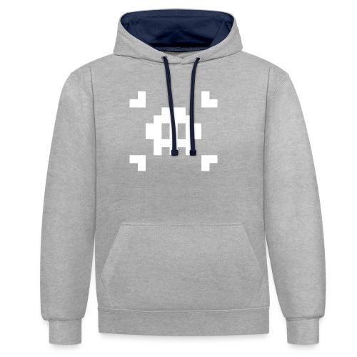 Mug Pixel Skull - Sweat-shirt contraste