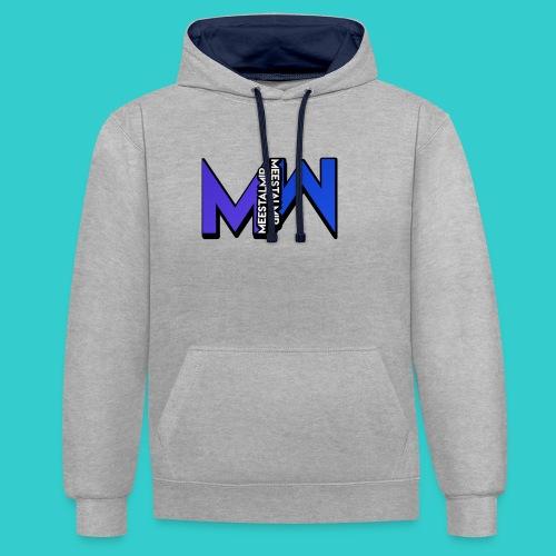 MeestalMip Hoodie - Men - Contrast hoodie