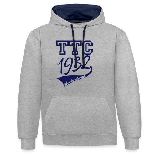 TTC Casual - Kontrast-Hoodie