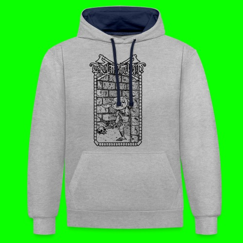 Return to the Dungeon - Contrast Colour Hoodie
