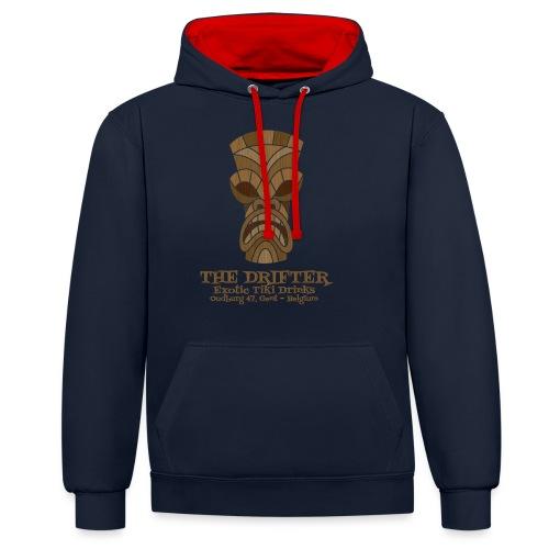 tshirt logo - Contrast hoodie