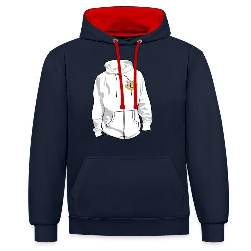 hoodyfront - Contrast hoodie