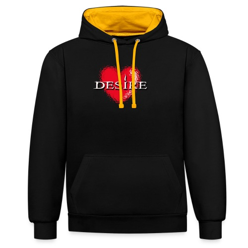 Desire Nightclub - Contrast Colour Hoodie