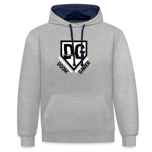 doom trui - Contrast hoodie