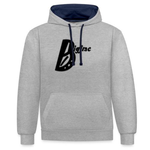 Bigjmc Hoodie - Contrast Colour Hoodie