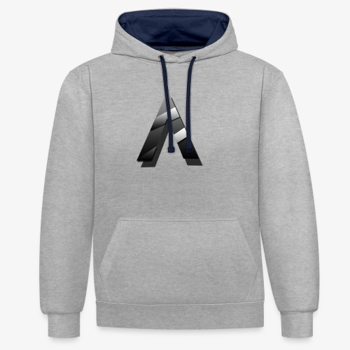 A for Arctic - Sweat-shirt contraste