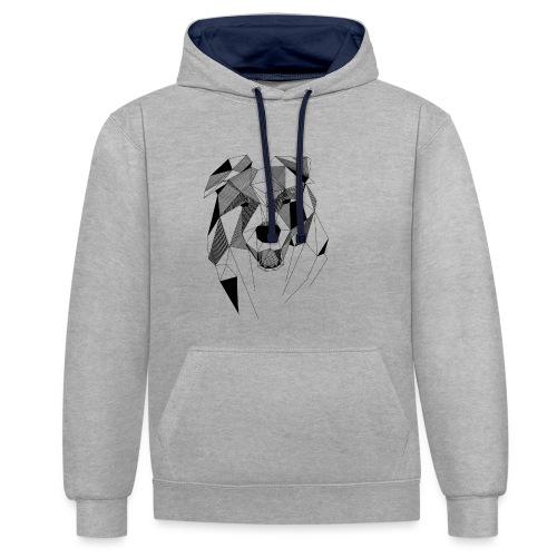 BorderCollie - Contrast hoodie