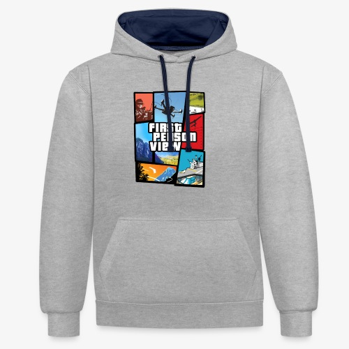 Ultimate Video Game - Contrast Colour Hoodie