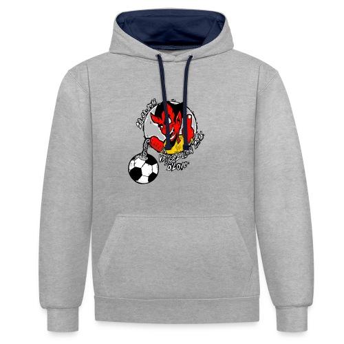 o'love - Contrast hoodie
