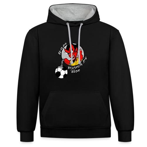 ontwerp_vrijgezellen3 - Contrast hoodie