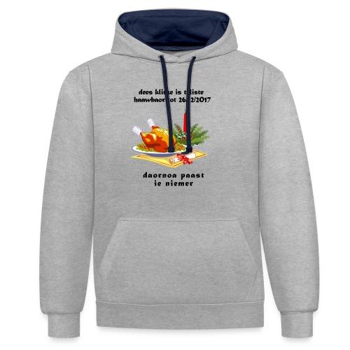 teliste_haawbaor - Contrast hoodie