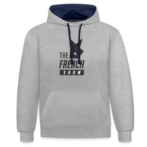 The French Show LOGO pt.1 - Sweat-shirt contraste