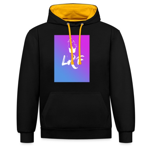 LRF rectangle - Sweat-shirt contraste