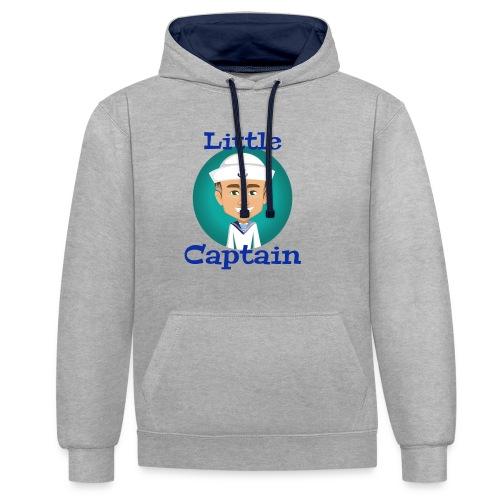 Little Captain - Kontrast-Hoodie