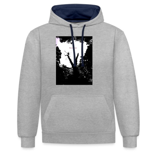 Scarry / Creepy - Contrast Colour Hoodie
