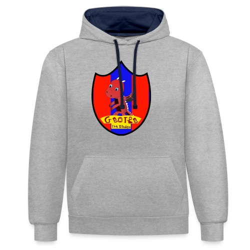 George The Dragon - Contrast Colour Hoodie