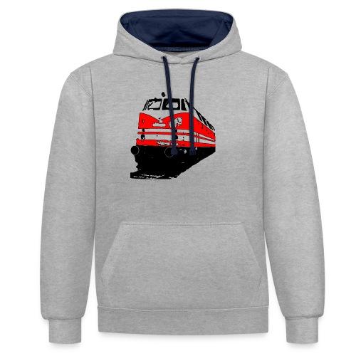Deutsche Reichsbahn - Kontrast-Hoodie