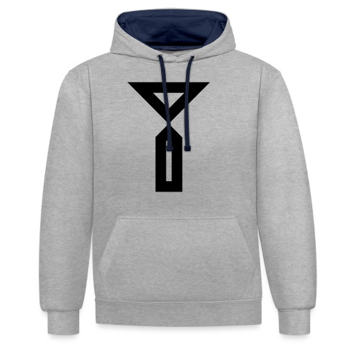 Y - Contrast Colour Hoodie