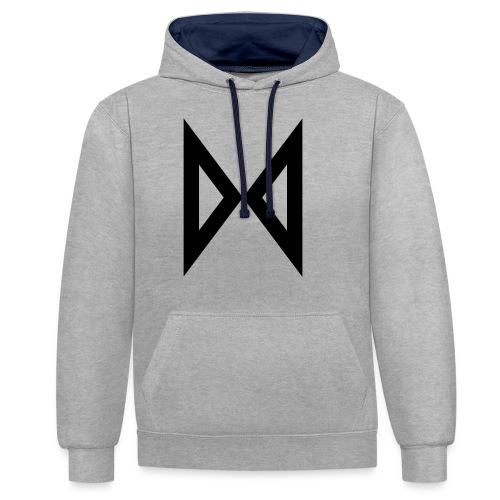 M - Contrast Colour Hoodie