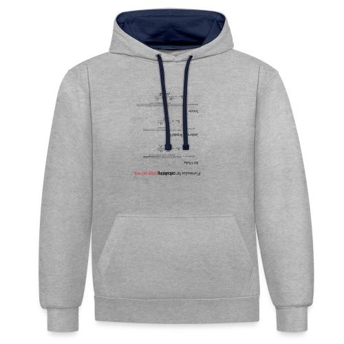 Formulas for calculating steps-per-mm (upturned). - Contrast Colour Hoodie