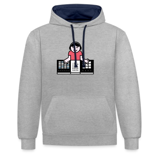 Ableto DJ - Contrast hoodie