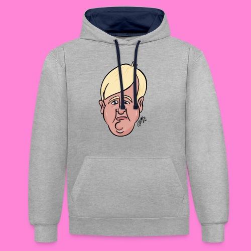 Donald - Contrast hoodie