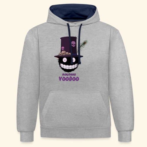 voodoo - Sweat-shirt contraste