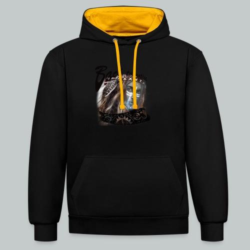 progress2 - Contrast hoodie