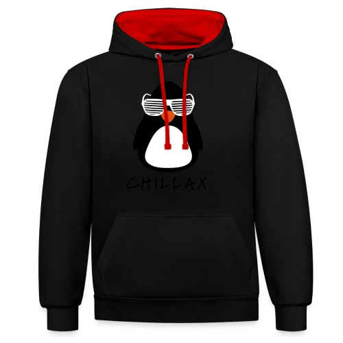 Chillax - Contrast hoodie