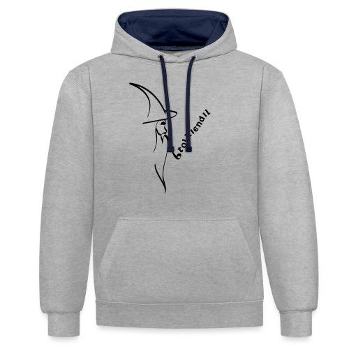 Tolkiendil & Magicien - Sweat-shirt contraste