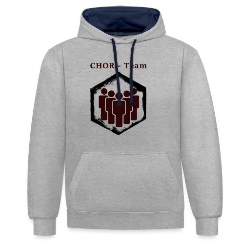 ChorTeam - Kontrast-Hoodie