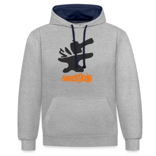 Second Collection - Kontrast-Hoodie