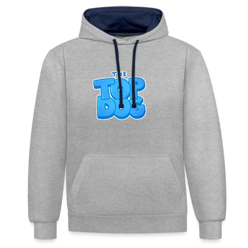 Top Dog merch - Contrast Colour Hoodie