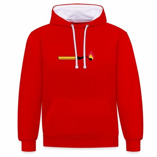 Stekske solo - Contrast hoodie