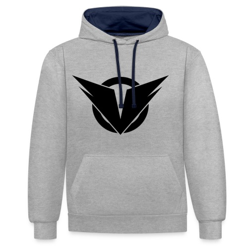 Vintry Logo on back - Kontrast-Hoodie