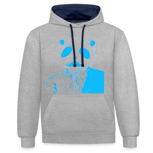BluePanda Logo - Contrast Colour Hoodie