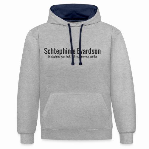 Schtephinie Evardson Classic - Contrast Colour Hoodie