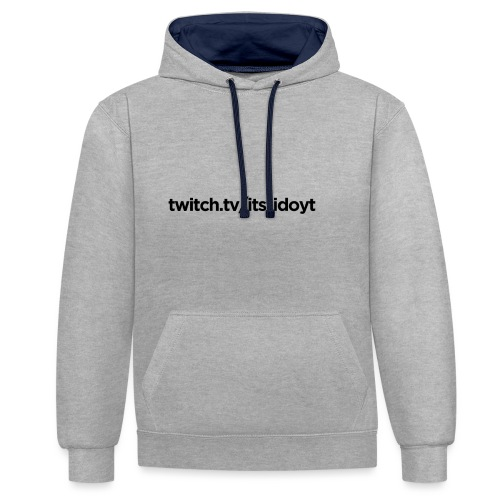 Fido - Twitch Link - Kontrast-hættetrøje