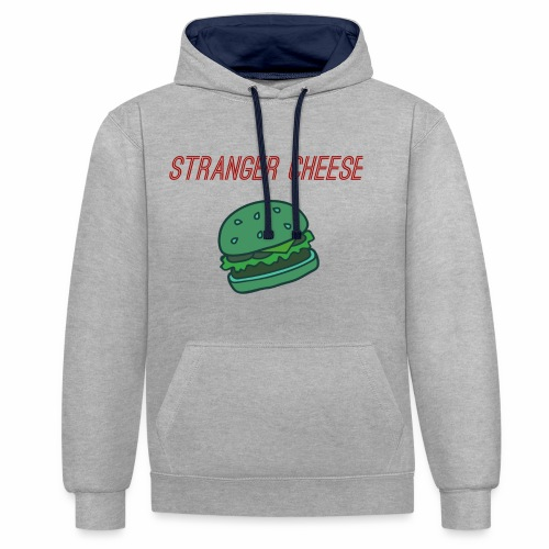 Stranger Cheese - Sweat-shirt contraste