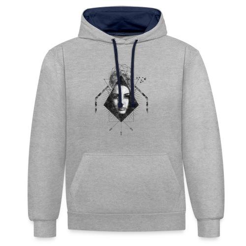 MOON GIRL - Contrast hoodie