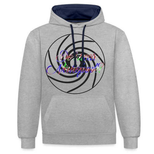 Do I hear Neurofunk? - Kontrast-Hoodie