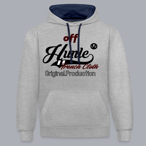 Hunle Veritable Collection n°2 - Sweat-shirt contraste
