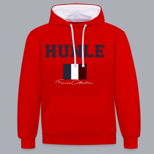 hunle French Collection n°1 - Sweat-shirt contraste