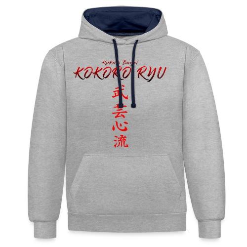 KOKORO RYU - Sweat-shirt contraste